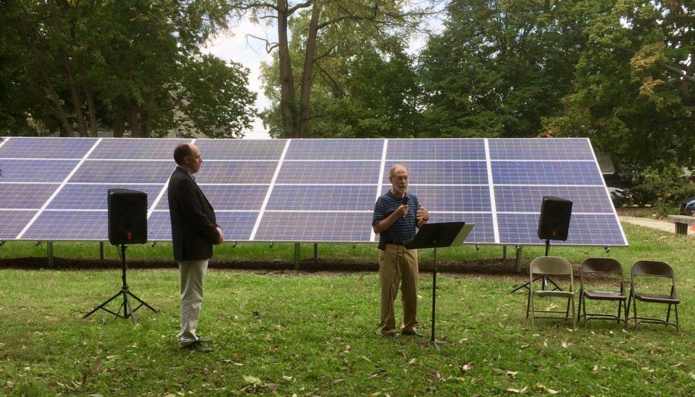 UUI Solar Dedication, Indianapolis with Hoosier Interfaith Power & Light