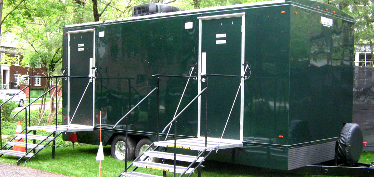 Indianapolis Portable Restrooms Trailers Showers  Indy