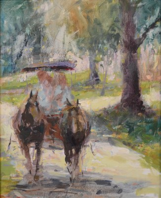 Spring Carriage Ride 16x20 Formsma
