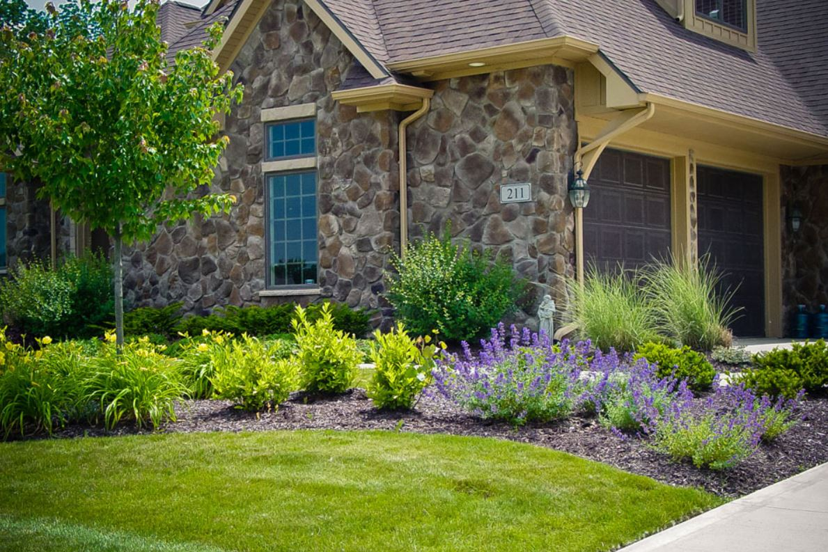 Front Entrance Landscaping Design Ideas Hoot Landscape And