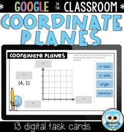 Coordinate Planes Digital Activities   Hooty's Homeroom [ 1152 x 1152 Pixel ]