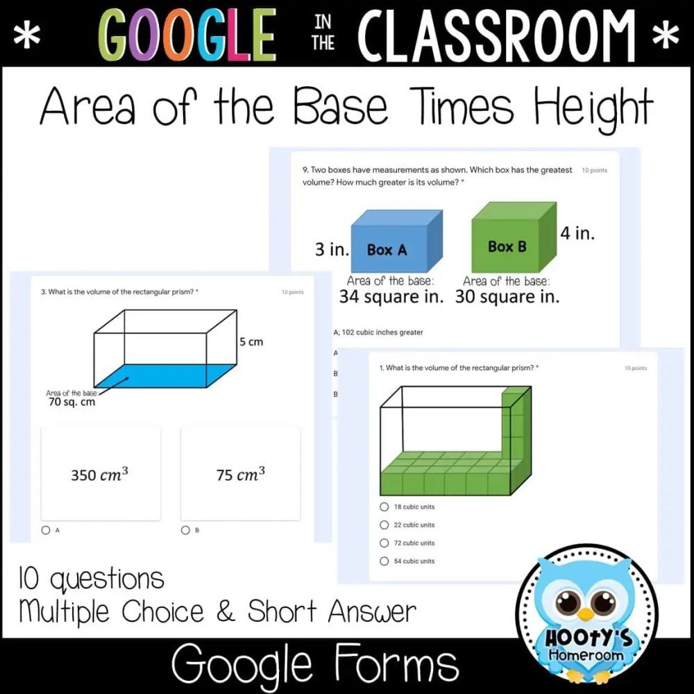 medium resolution of Volume of Rectangular Prisms using Google Forms   Hooty's Homeroom