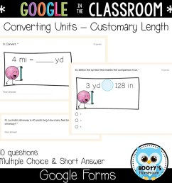 Measurement Conversions using Google Forms   Hooty's Homeroom [ 1152 x 1152 Pixel ]