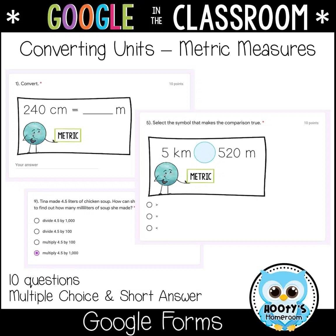 Measurement Conversions Using Forms