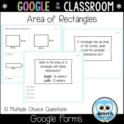 small resolution of Area and Perimeter Using Google Forms   Hooty's Homeroom
