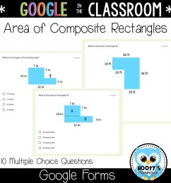 Area and Perimeter Using Google Forms   Hooty's Homeroom [ 1152 x 1152 Pixel ]
