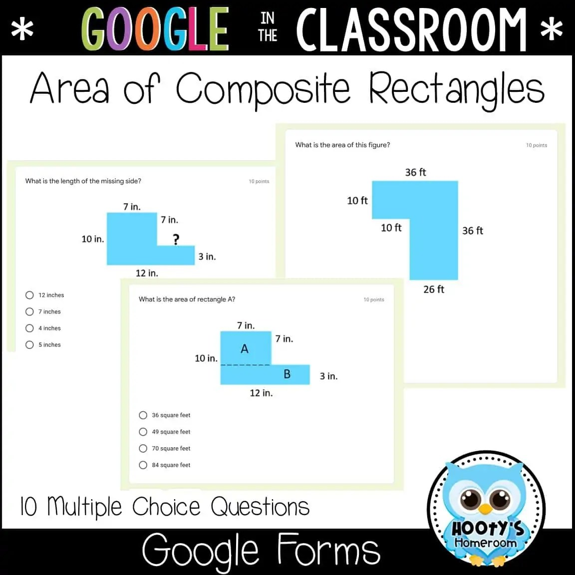 hight resolution of Area and Perimeter Using Google Forms   Hooty's Homeroom