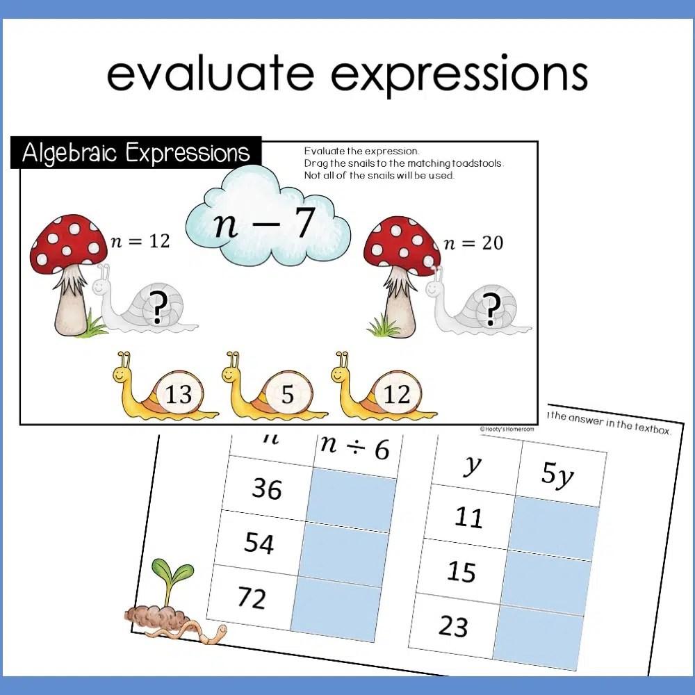 hight resolution of Understanding Algebraic Expressions Using Google Slides