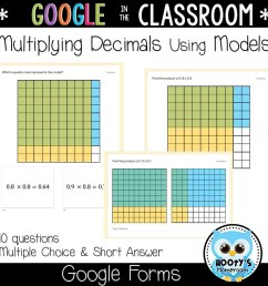 Multiplying Decimals Using Google Forms   Hooty's Homeroom [ 1152 x 1152 Pixel ]