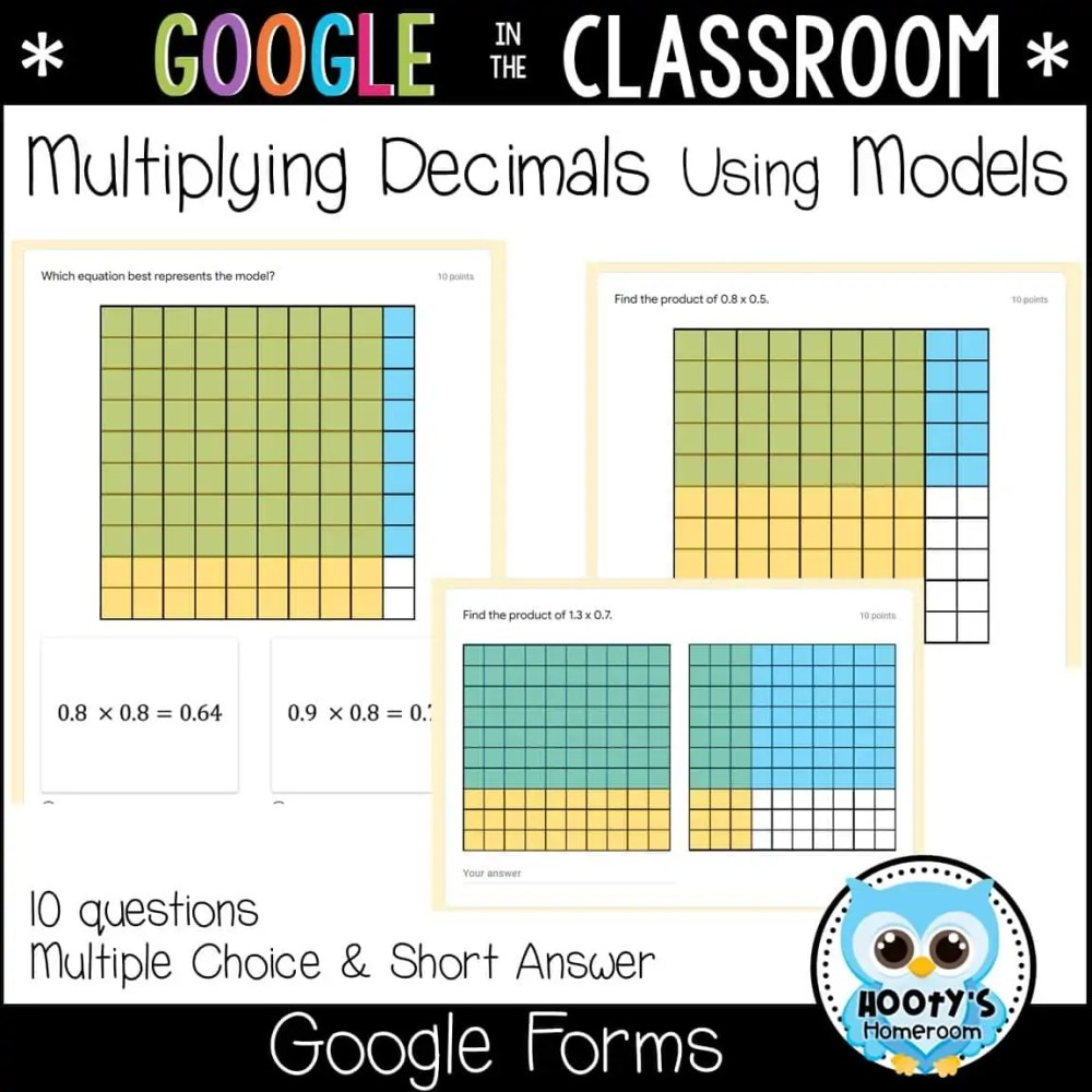 medium resolution of Multiplying Decimals Using Google Forms   Hooty's Homeroom