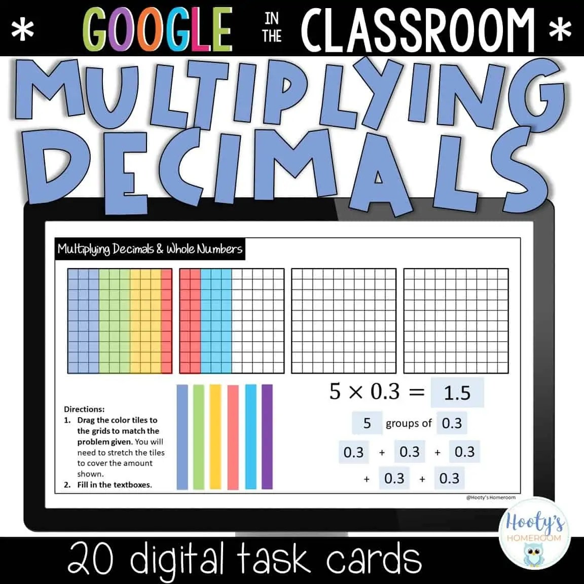 Multiplying Decimals By Whole Numbers Using Models