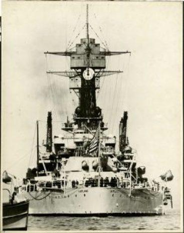 The USS Maryland battleship.