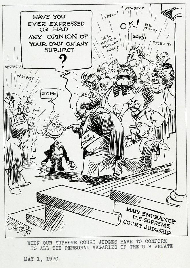1930 cartoon drawing by Jay Ding Darling.