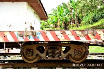 Las planchas de vagón del tren, pueden soportar cientos de toneladas de peso.