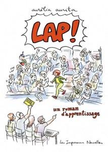LAP_couv-214x300 Aurélia Aurita : Lap! un roman d'apprentissage