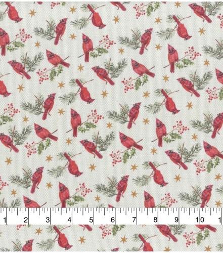 Cardinals and Holly napkins