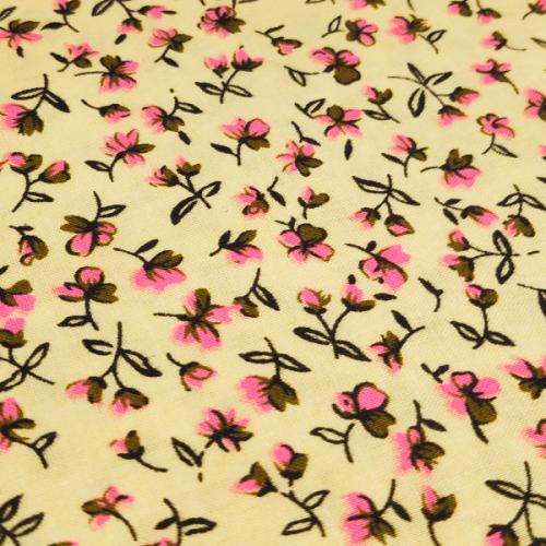 pink_flowers_yellow_bg