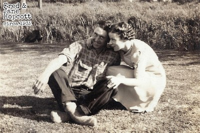 Fred and Jane Hopcott Circa 1935