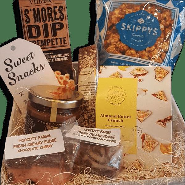sweet snacks gift basket
