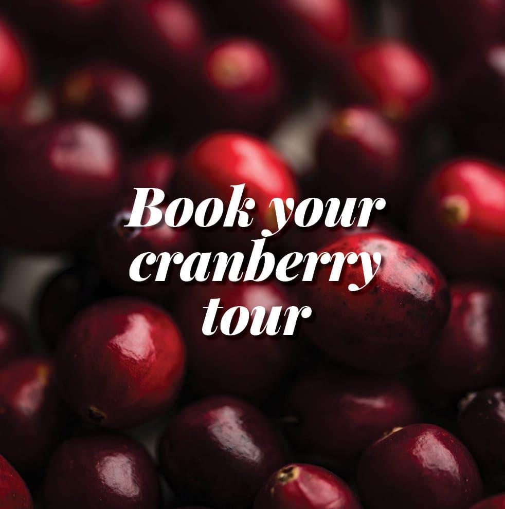 book your cranberry tour