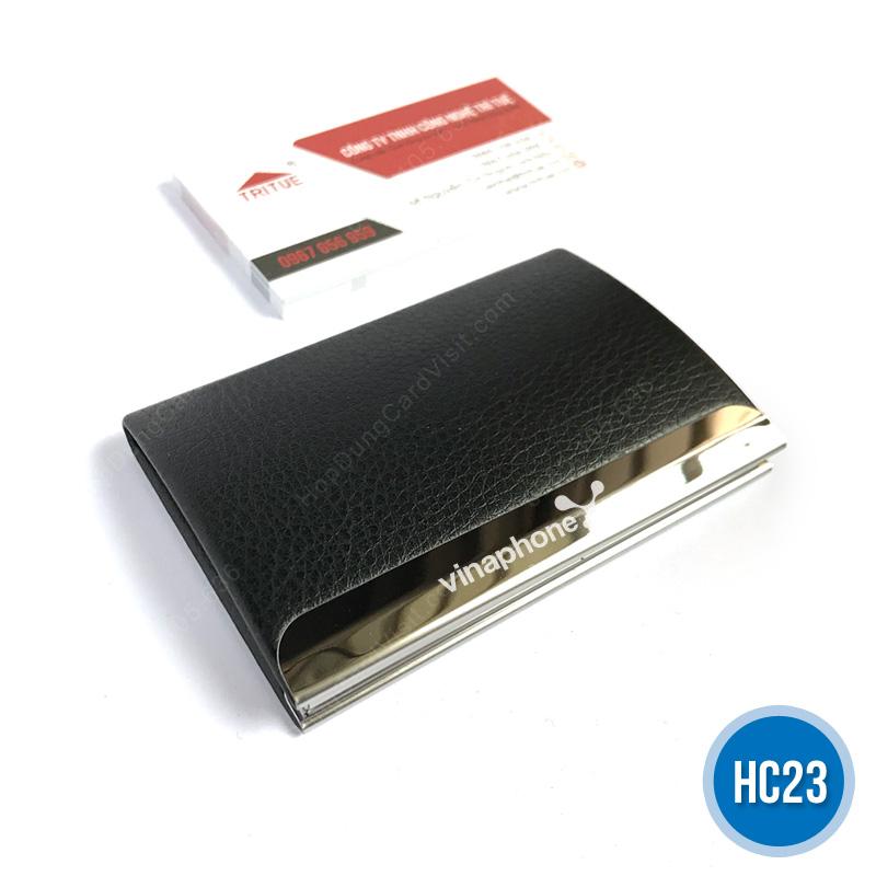 Hop dung name card cao cap HC23