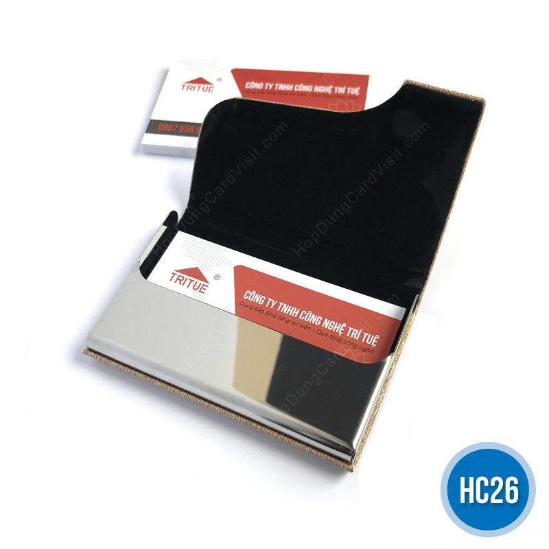 Hop namecard gia re HC26