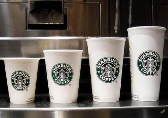 Ly giấy đựng cafe Starbucks