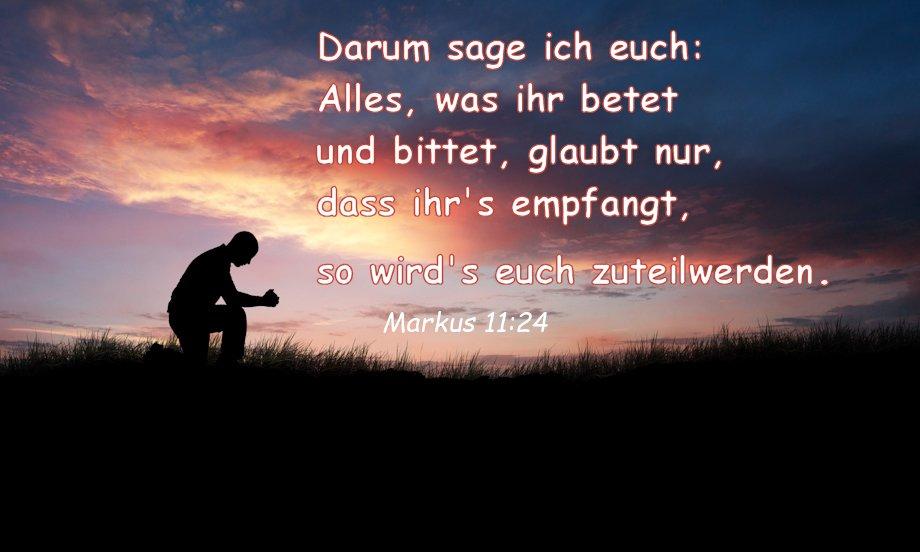 Markus 11 24 Auslegung