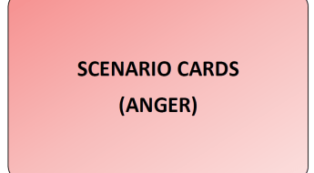 Emotion Scenario Cards (Anger)