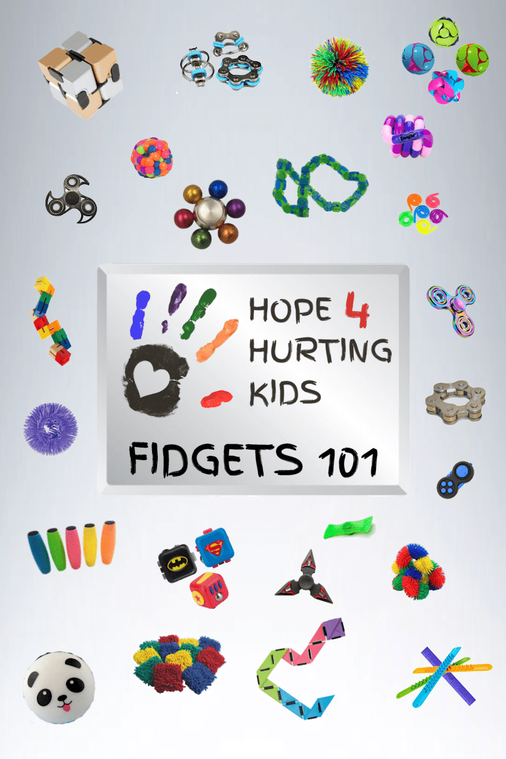 Fidgets 101 is an introduction to the world of fidgets (they are way more than just spinners). In this series, we explain and review a variety of fidgets.