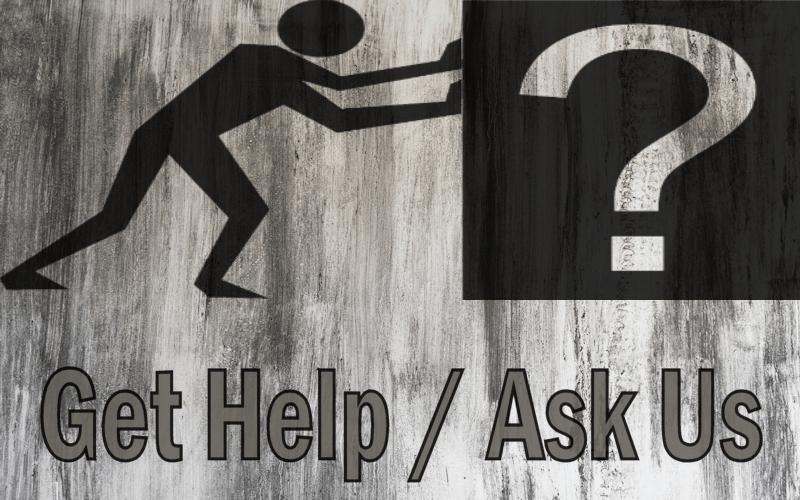 Contact Us / Get Help