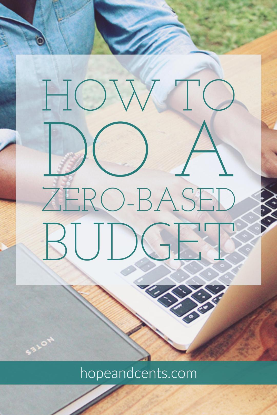 Have you tried a zero-based budget? This budgeting method actually works. Try it if you're looking to manage your money and be debt-free.