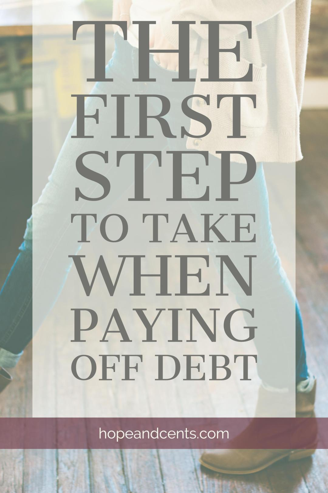 "You've gained the inspiration you needed and figured out your ""why"". You've made the tough and mature decision to dump your debt. Now, what do you do first?"