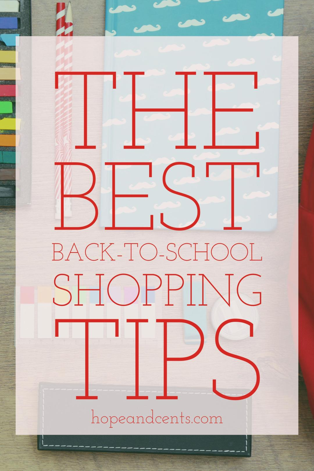 Back-to-school shopping can easily be a huge budget-buster. Whether you have a first-grader or a freshman in college, it's a challenge to strike the balance of getting what they need while meeting your own need of sticking to your budget.
