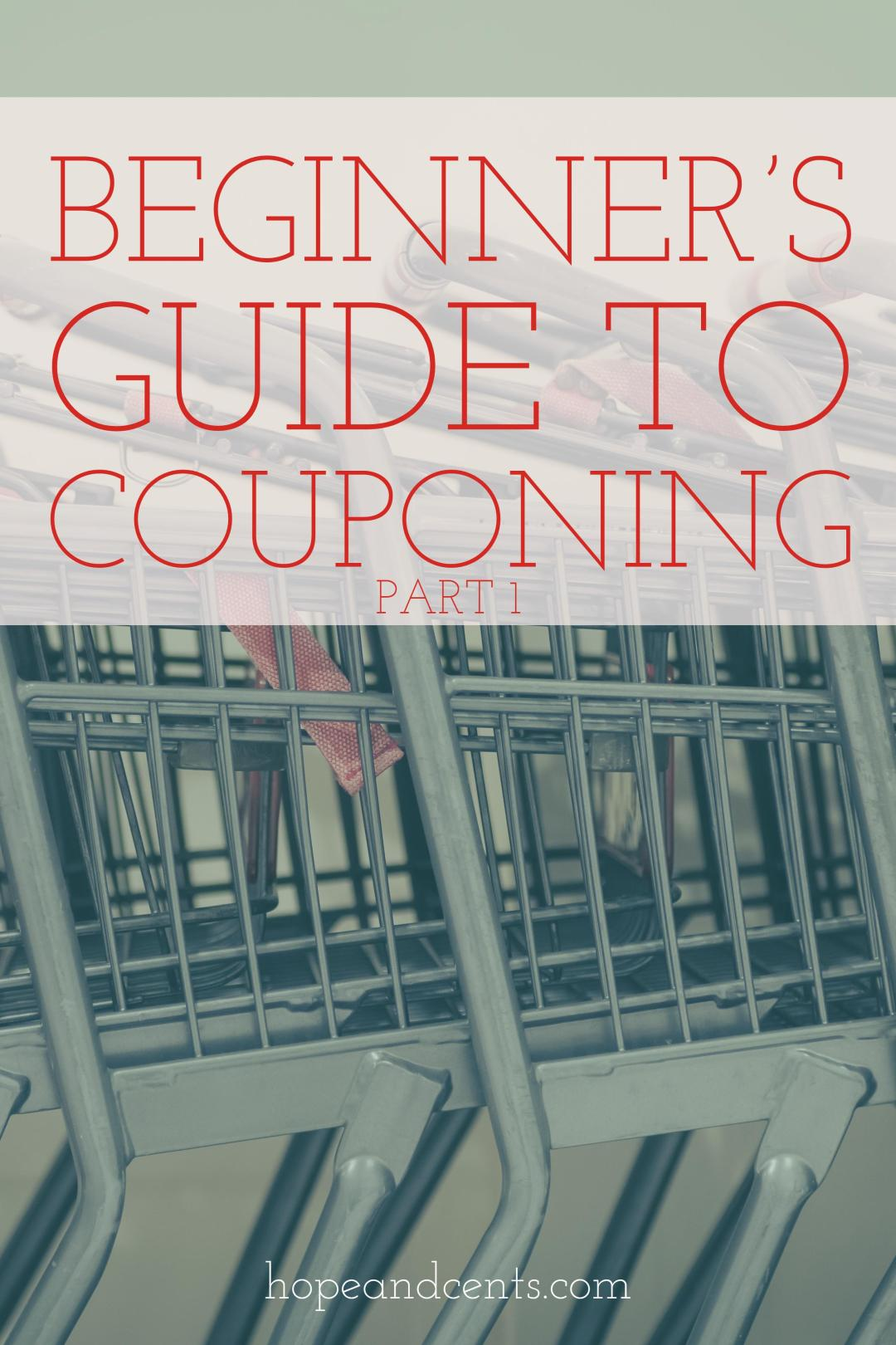 Are you trying to save money on groceries and thinking about learning how to coupon? Knowing where to start when it comes to couponing can be daunting — enough to make you not start. Give it a try with this beginner\'s guide. | how to coupon | saving money |save money on groceries | #coupon #frugalliving  #savemoney #money