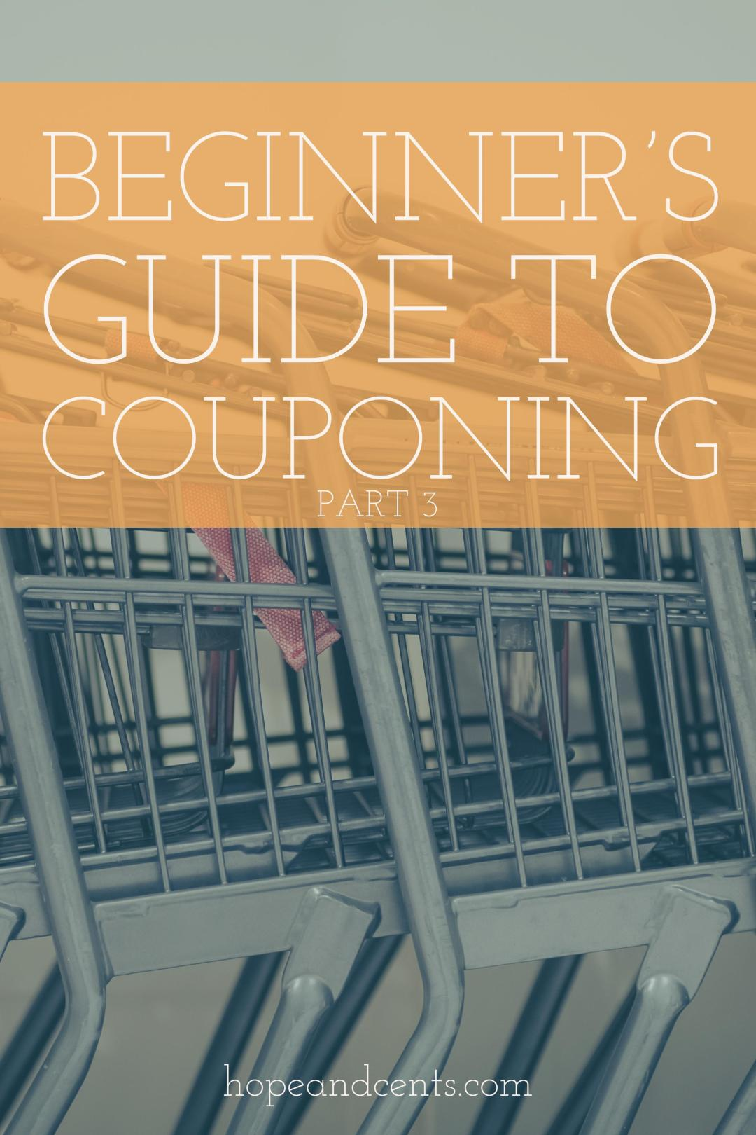 Part 3 in a three-part series. You've grasped the basics of couponing. You know about the coupon types and where to find them. Now, you're ready to actually coupon.