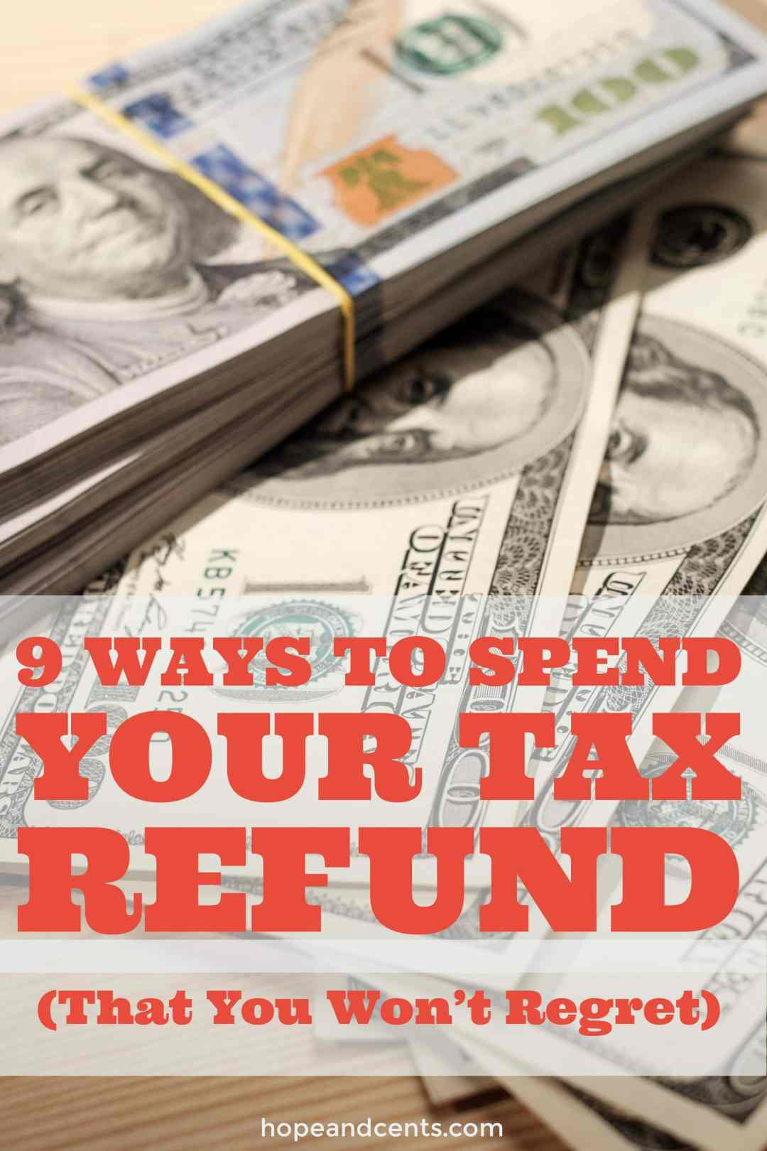 Are you expecting a tax refund? While there are many ways you can spend it, choose a path that you won't regret.
