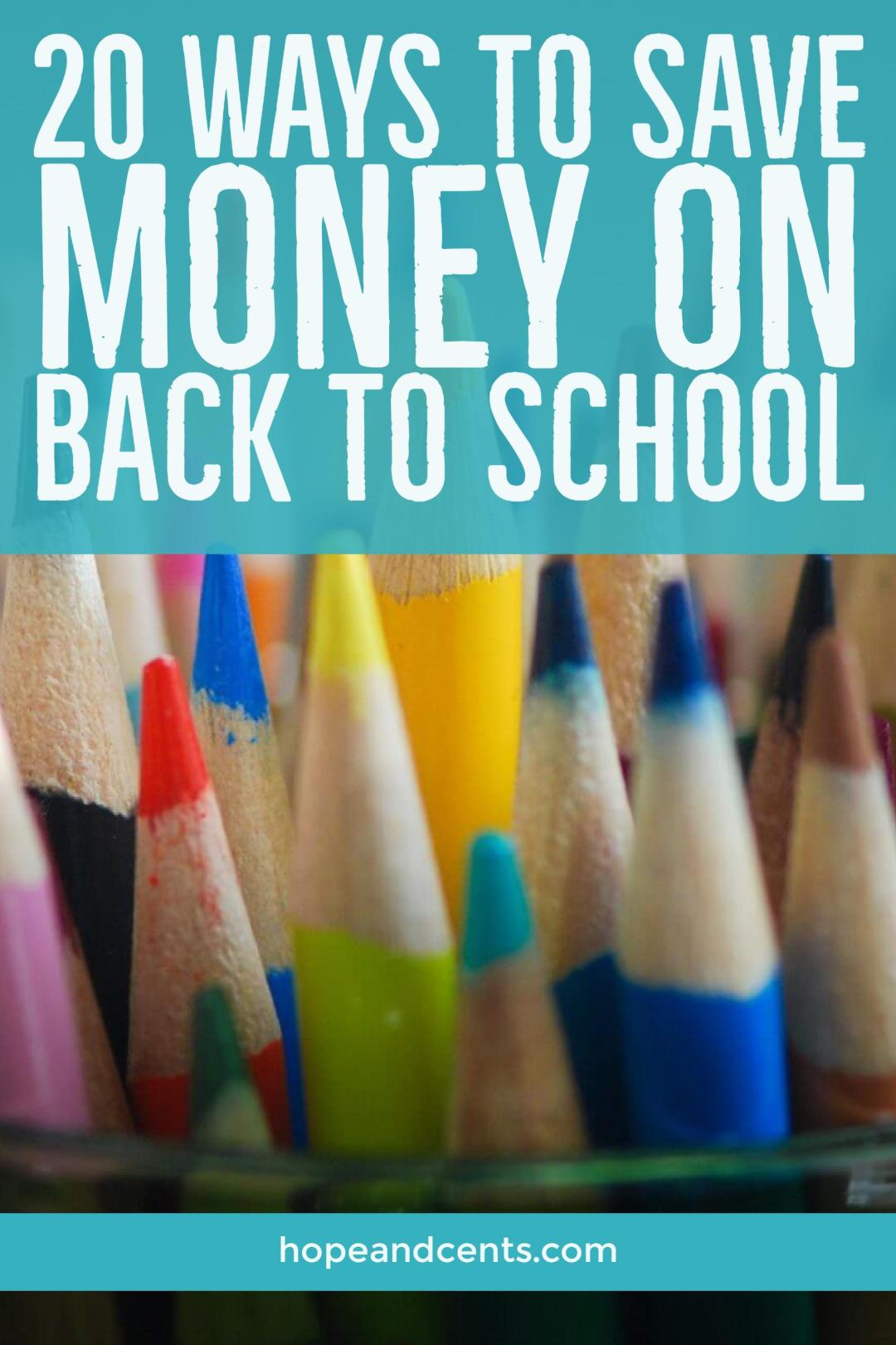 Do you cringe at the thought of how much you have to spend during the Back to School Season? Follow these tips to save money, keep your budget in tact AND get what your kids need.