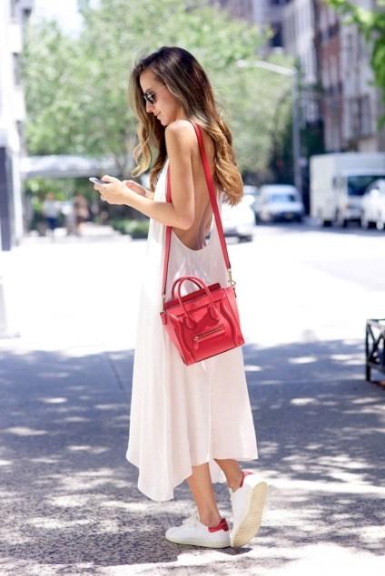 Bloglovin+Blog+Lipstick+Red+Bag+Trend+Maxi+Midi+White+Low+Back+Dress+Céline+Mini+Satchel+Red+Adidas+Original+Sneakers+Arielle+Blogger+Style+Via+Something+Navy