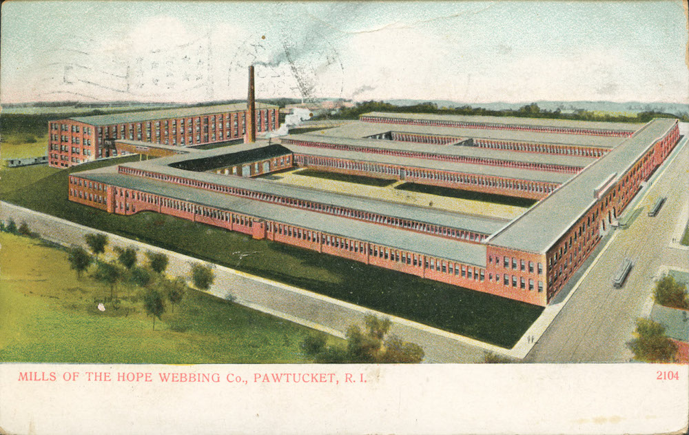 Old Hope Webbing Co. Artistic Postcard
