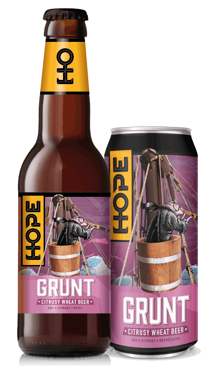 Hope Grunt Wheat Beer