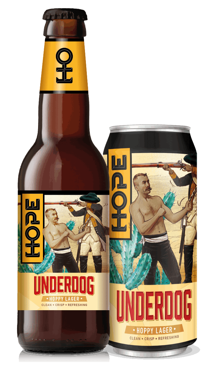 Hope Beer Underdog Lager