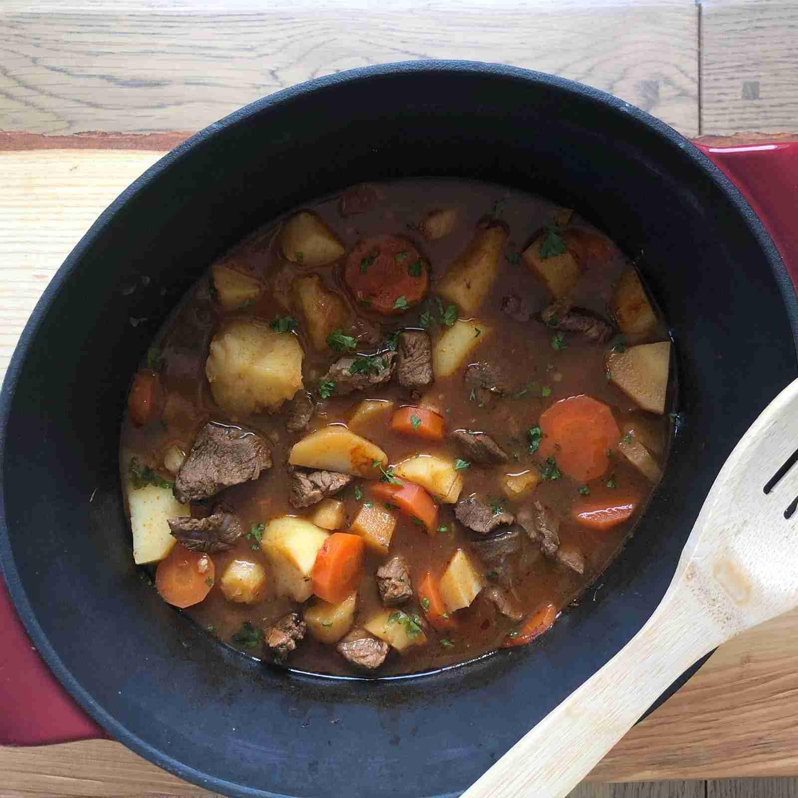 Irish Beef Stew with beer