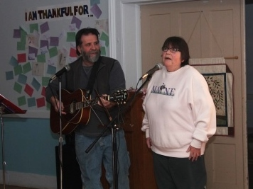 Talent show 2015 Dave and Ruthie
