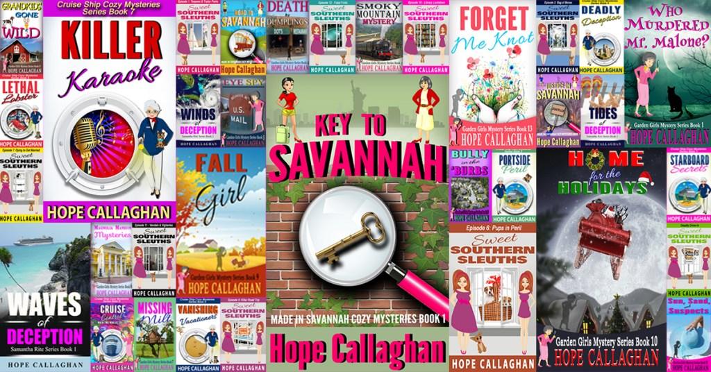 Christian Mystery Books by Author Hope Callaghan