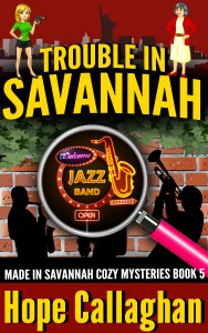Download Trouble in Savannah Book Cover