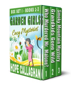 Garden Girls Cozy Mysteries Series Box Set - Books 1-3