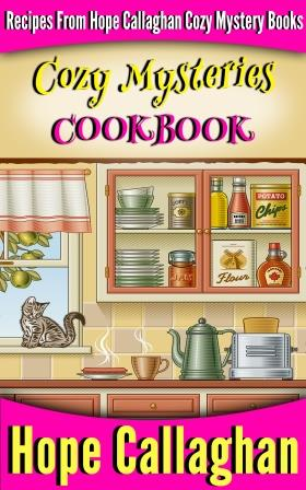 Cozy Mysteries Cookbook – Recipes from Hope's Books