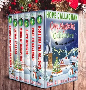 Hope Callaghan Cozy Mysteries Collection (6 Book Home & Holiday Edition)