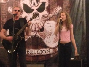 Steve Drewett and daughter Rosa